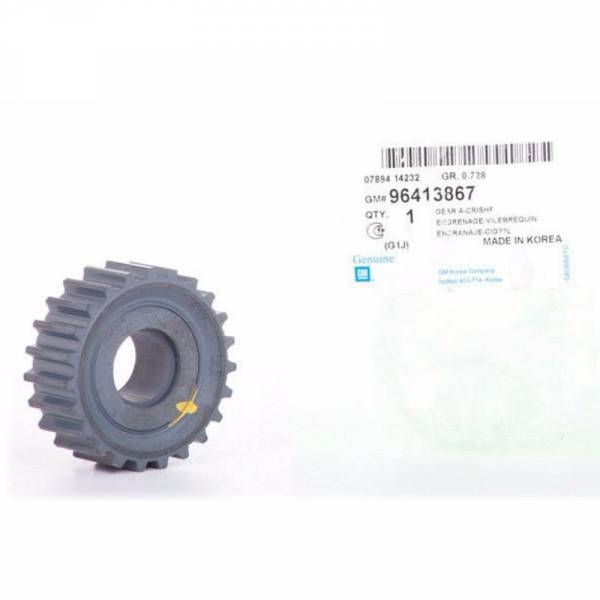 GM - New OEM Pulley Crank Timing for Optra Design Part: 96413867