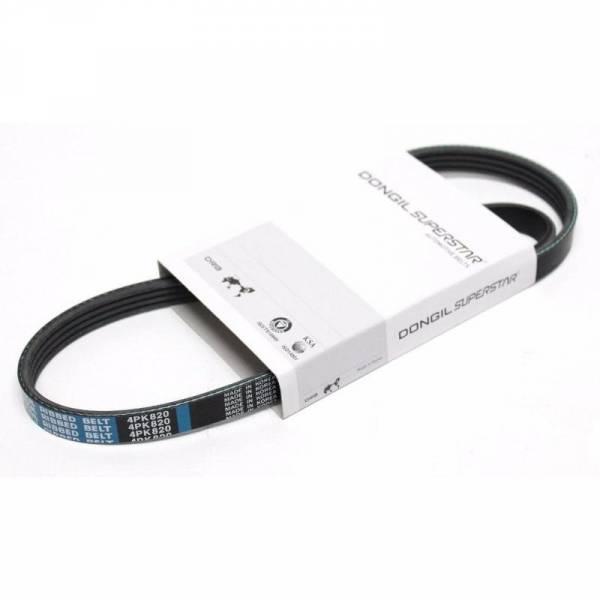 DONGIL - New OEM Serpentine Belt-Rib Ace Precision Engineered V-Ribbed Belt DONGIL 4PK820