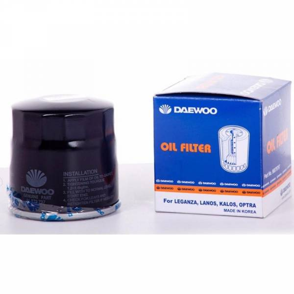 DAEWOO - New OEM Oil Filter (4 pack) for Chevrolet Aveo Optra Limited Design 96879797