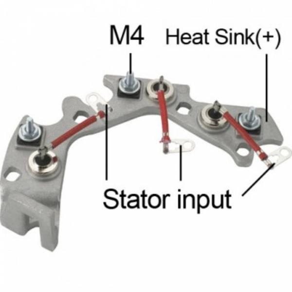 Transpo - New Alternator Rectifier for 25SI - DR1670