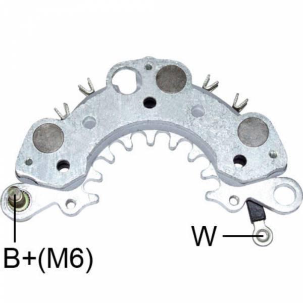 Transpo - New Alternator Rectifier for NISSAN SENTRA LESTER 13640 - IHR778