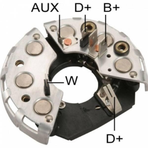 Transpo - New Alternator Rectifier for ALR BOSCH SERIE 489 12V 1  - IBR302