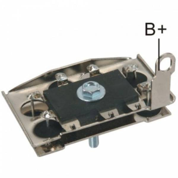 Transpo - New Alternator Rectifier for HITACHI TRACTOR 12V HITACHI - IHR1000