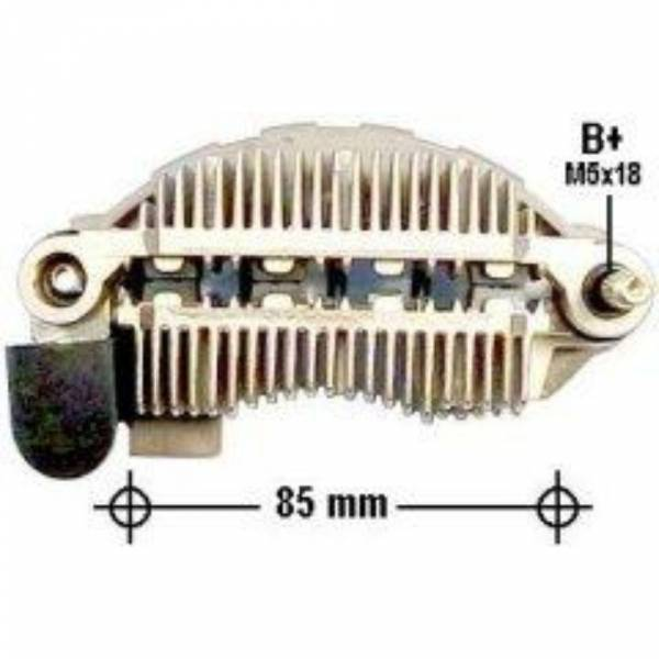 Transpo - New Alternator Rectifier for FORD, MAZDA - IMR-8592