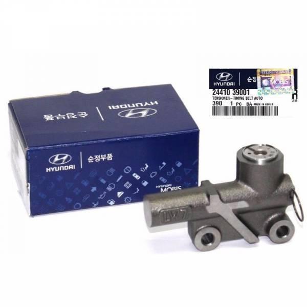 Korean Parts - New OEM HYDRAULIC TIMING BELT TENSIONER for 02-06 HYUNDAI KIA 3.5L