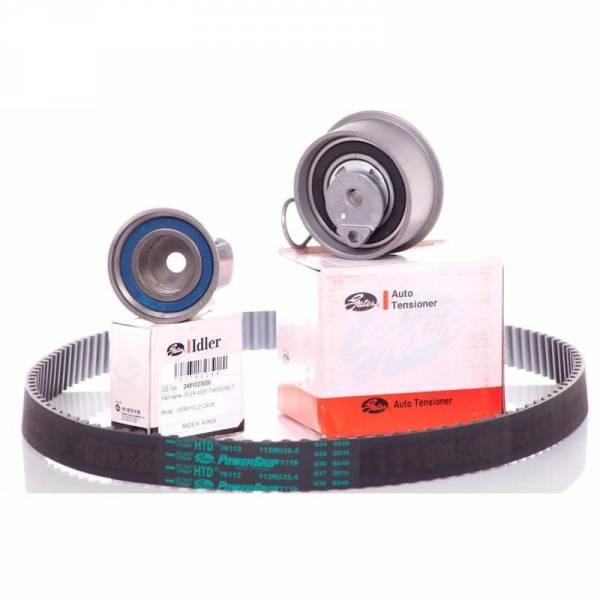 GATES - New OEM Gates HTD Timing Belt Kit for 05-10 Hyundai Kia 2.0L G4GC G4GF