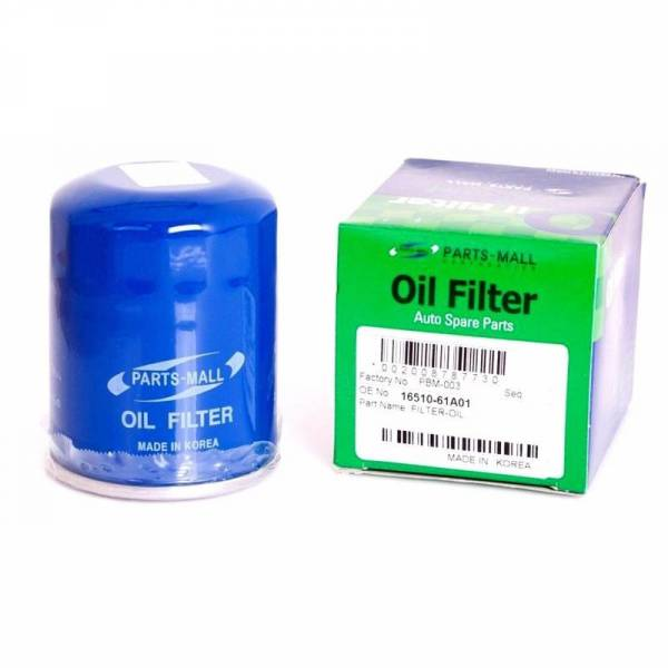 Korean Parts - New OEM (Pack 4) Oil Filter for Chevrolet Grand Vitara Part: 16510-61a01