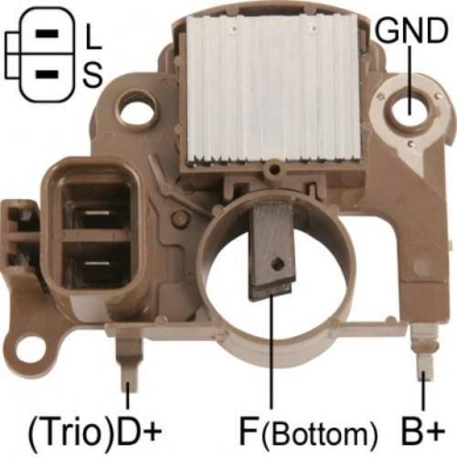 Transpo - New Alternator Regulator for MITSUBISHI DIAMANTE Y FUSO CANTER - IM280