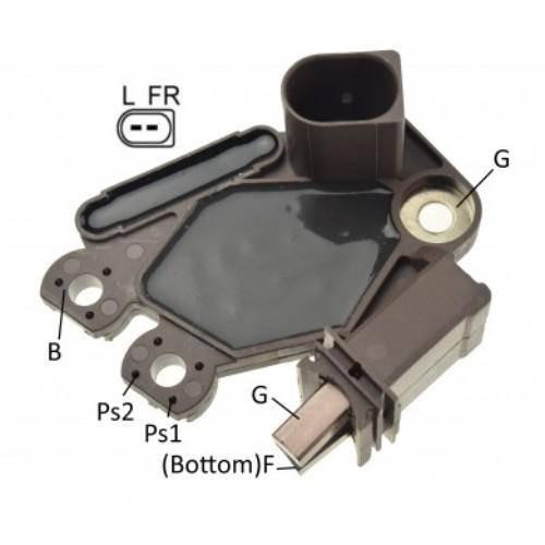 Regitar - Voltage Regulator for Alt Valeo Chrysler/ford/Mercedes 12V