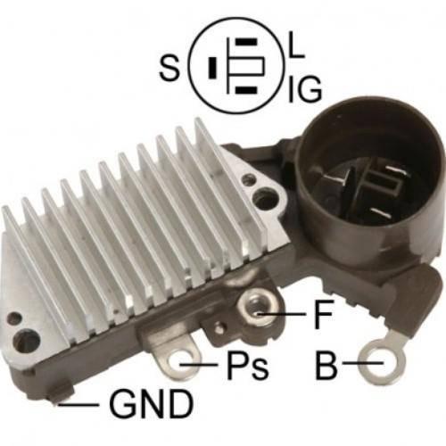 Transpo - New Alternator Regulator for TOYOTA SKAY, COROLLA CELICA - IN436