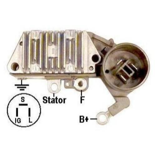 Transpo - New Alternator Regulator for TOYOTA CELICA 2.2, 2.0 - IN434
