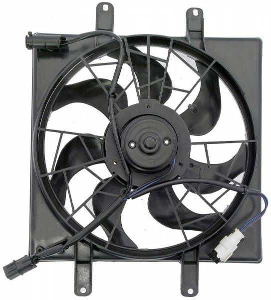 DTS - New Engine Cooling Fan Assembly for Hyundai Accent, Scoupe - 25380-22220