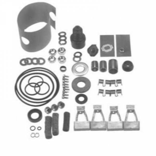 DTS - New Repair Kit For Starter 40Mt 4 Brushes 24-32 Volt - 79-1113
