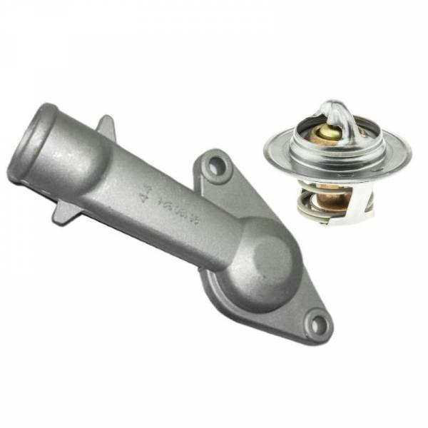 GM - New OEM DAEWOO CIELO LANOS 1.5 Engine Coolant Thermostat Kit 96180324, 96143939
