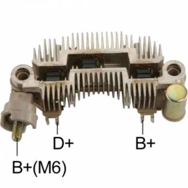 Transpo - New Alternator Rectifier for KIA SEPHIA 1.8L 98, 2000 MANDO 70AMP - IYR-9094