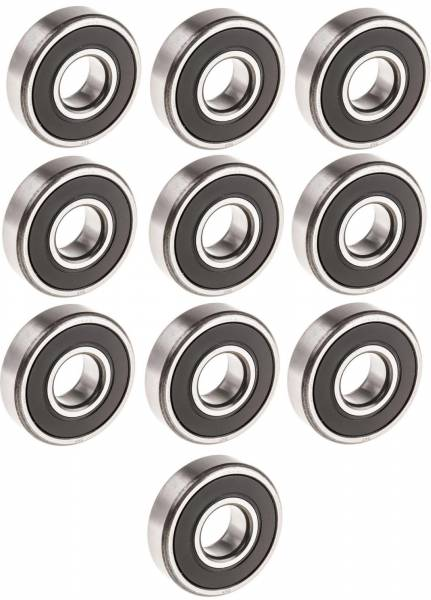 DTS - Set of 10 Sealed Ball Bearing For 2200A 4400 4700A 7000 20MM X 52MM X 15MM 6304