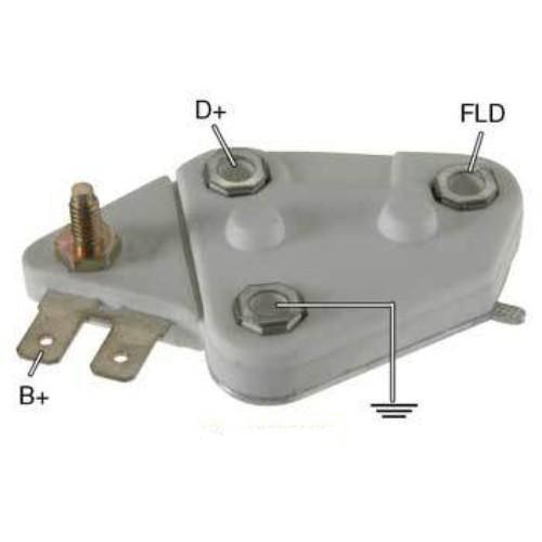 Transpo - New Alternator Regulator for 5000 12V 27SI D27 - D27