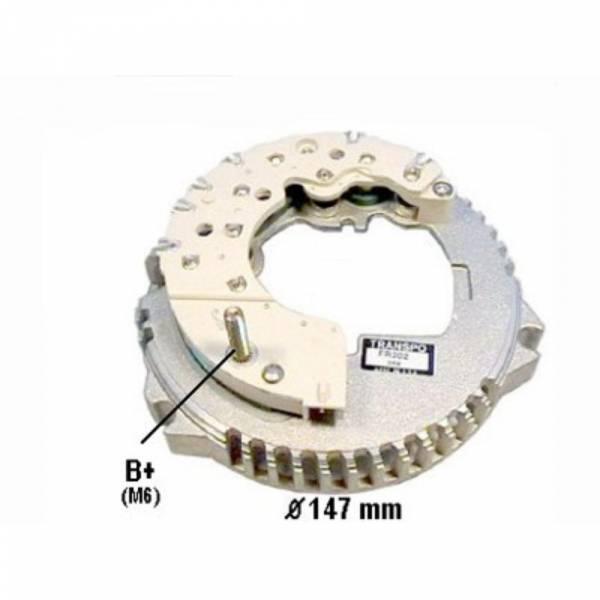 Transpo - New Alternator Rectifier for 3G BRONCO 130 AMP MERCURY, LINCON - FR2023