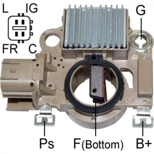 Regitar - New Voltage Regulator for Alt Honda Civic 2001-2005