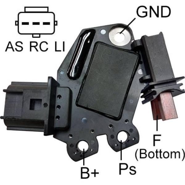 Transpo - New Alternator Regulator for FORD VALEO SUPER DUTY 6.2L - M618