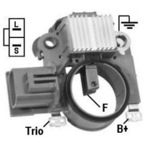 DTS - New Alternator Regulator for Lancer 1.8 Galant V6 - IM847