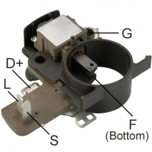 DTS - New Alternator Regulator for HYUNDAI CAMION H-100 12V - IY422