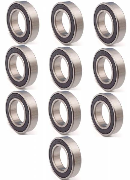 DTS - New Set of 10 Bearing For Hirachi 17mm ID x 30mm OD x 7mm W 6903