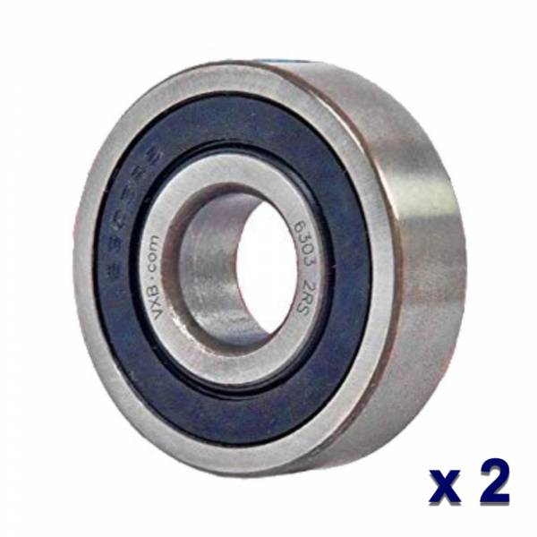 DTS - Set OF 2 Rolling Bearing for Bronco Mitsubishi 17mm ID  47mm OD 14mm W - 6-303-4