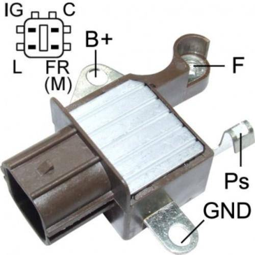 Transpo - Voltage Regulator for Honda 4 Pin - IN6335