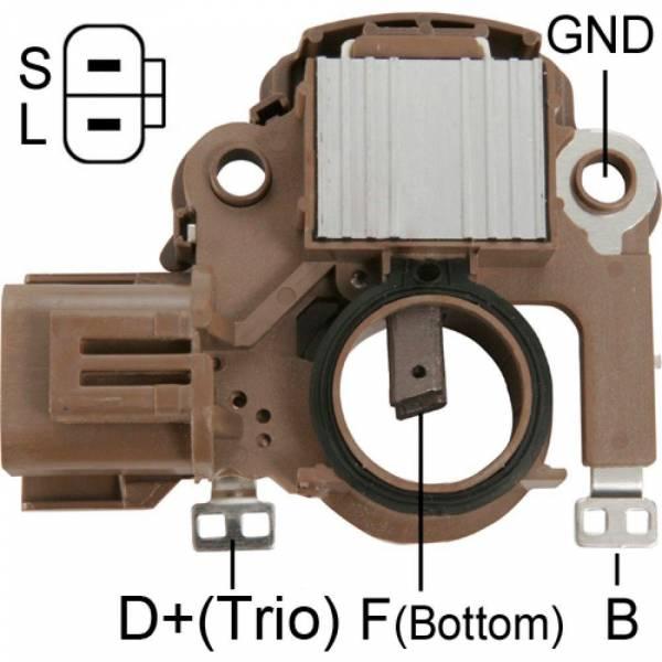 Transpo - New Alternator Regulator for FORD LASER Y MAZDA MX3 2000 - IM830