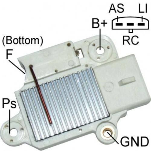 Transpo - New Alternator Regulator for FORD 4G - F797