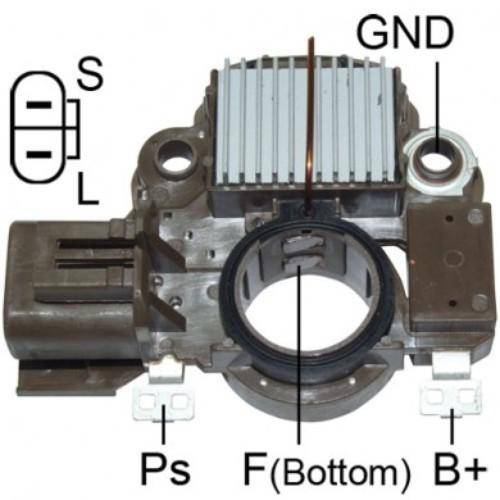 Transpo - New Voltage Regulator for Alt Subaru Impreza 93/98 - IM342