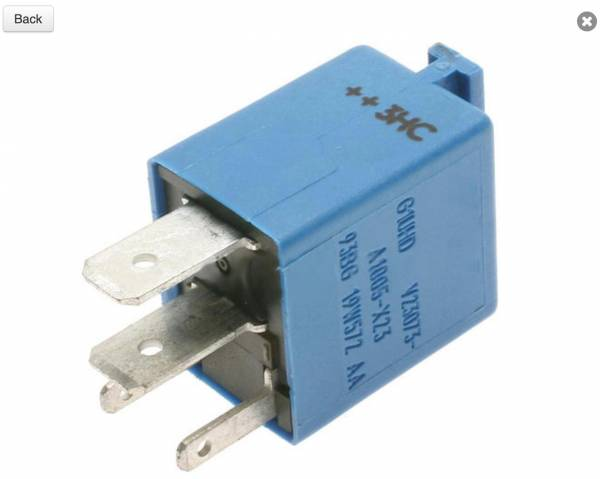DTS - New A/C Compressor Control Relay for Ford Contour Mercury Cougar - RY464