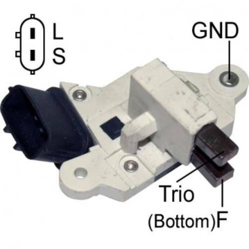 Transpo - New Alternator Regulator for NISSAN SENTRA C, BOSCH - IB501