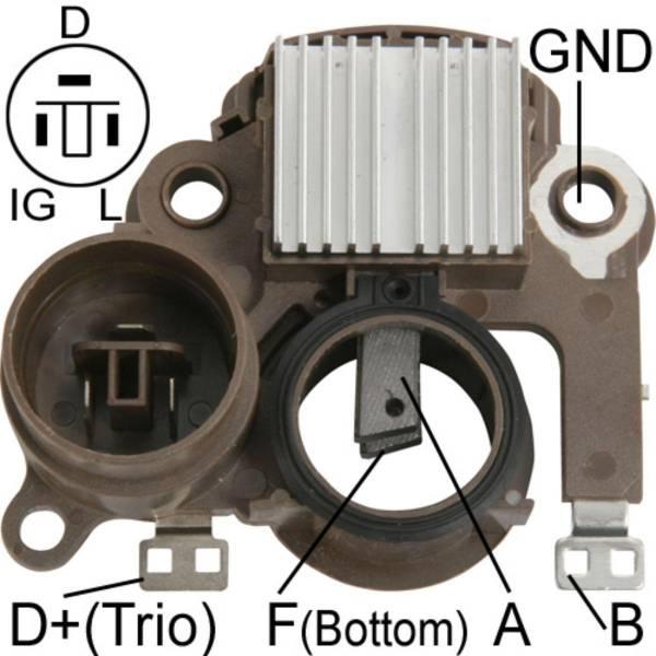 Transpo - New Alternator Regulator for CHEVROLET VITARA 98 - IM834