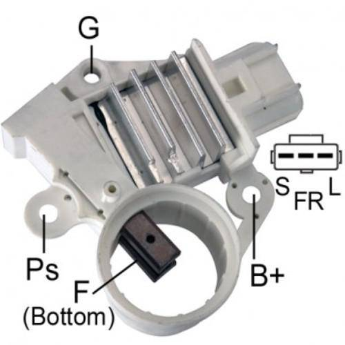 Transpo - New Alternator Regulator for FORD RANGER 2002 FORTALEZA 6G - F603