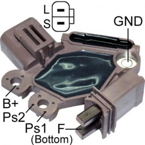 Transpo - New Alternator Regulator for VALEO 12V NISSAN - M534