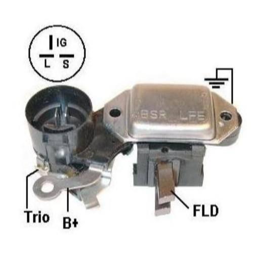 Transpo - New Alternator Regulator for ISUZU F.V.R 24V HITACHI - IH253