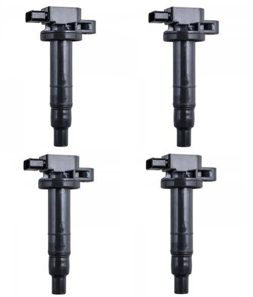 DTS - Set of 4 Ignition Coil for Toyota Yaris Echo Prius Camry Scion 1.5L 2.4L - UF316