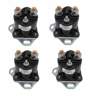 Made In USA - Set of 4 Ford Starter Solenoid Relay Switch for Ford SW1951 - Assembled in USA - Image 1