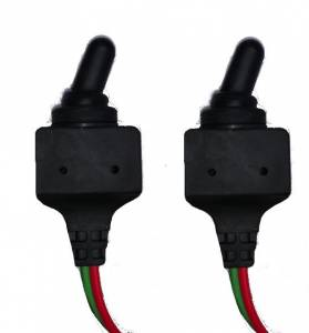 DTS - Set of 2 Toggle Switch Heavy Duty Waterproof 2 Terminal ON/OFF Marine Automotive - Image 1