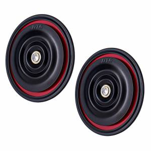 DTS - Set of 2 New Horn 12V Universal Tone Loud Electric Kit for Car & Motorcycle 92mm - Image 2