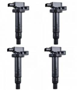 DTS - Set of 4 Ignition Coil for Toyota Yaris Echo Prius Camry Scion 1.5L 2.4L - UF316 - Image 1